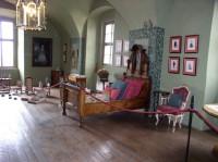 dětský pokoj na zámku Mělník