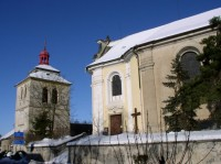 kostel sv. Bartoloměje v Kostomlatech n. L.