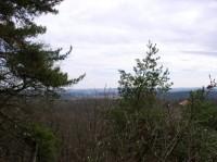výhled z Panské skály