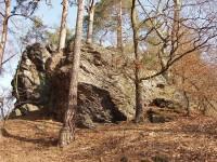 skalní hřeben Vraní skály