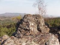 vrcholová plošina Vraní skály