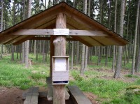 Kněží hora - odpočinkový altán v létě