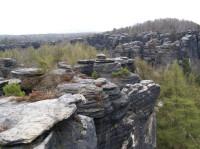 Tiské stěny - skaliska na malém okruhu