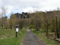 Přístupová cesta do Tiských stěn z Tisé