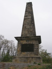 pamítník na vrchu Bedřichov