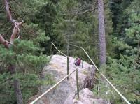 vyhlídková plošina na Sokolohradech