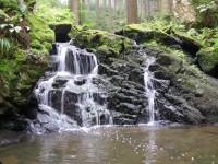 Kamenný potok léto