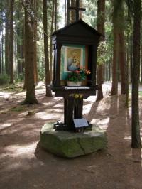 rozcestí Černý les