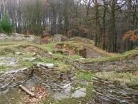 zbytky hradu Sion