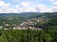 výhled na Tanvald z Terezínky