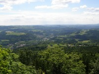výhled z vrcholu Muchov