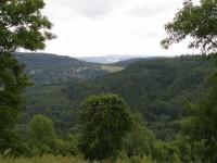 Boková hora od rozhledny na Varhošti