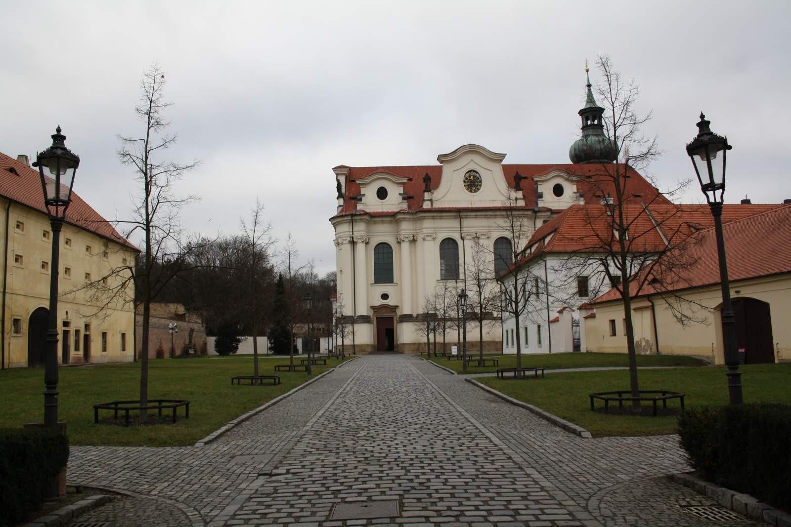 Břevnovský Klášter Praha Břevnovský Klášter v Praze