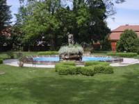 Dětenice - část parku