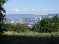 Ústí nad Labem ze Soudného vrchu