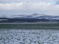 Litoměřicko - pohled z vrchu Na horách (u Rohatců)