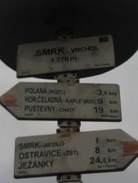 Výšlap na Smrk (Moravskoslezské Beskydy)