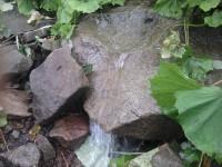 Cestou najdete tekoucí vodu