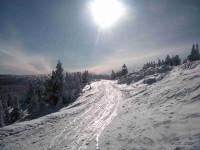 Na běžkách z Olomouce do Jeseníků pro sváteční sportovce