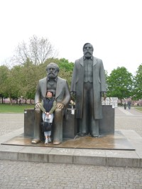 Berlin - Marx-Engels-Forum