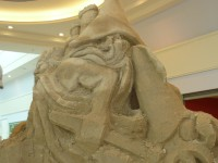 Obří sochy z písku v  Olomouci