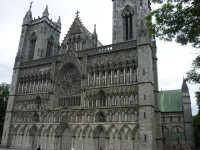 Trondheim - Katedrála Nidaros