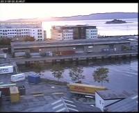 Webkamera - Trondheim - Ostrov Munkholmen