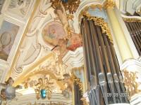 Interiér - Chrám na  sv. Kopečku