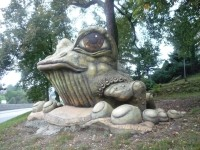 Tršice a žába