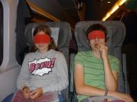 Norsko 2010, díl 6., Noční vlak a dárek zdarma