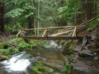 Vodopády Bílé Opavy - výstup z Karlovy Studánky