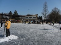 Zamrzlé Poděbrady - únor 2012