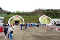 Pohled na Prackovický tunel