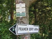 Cesta k pramenům Odry