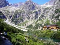 Zelené pleso vo Vysokých Tatrách
