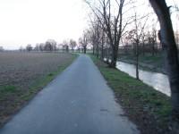 In Line stezka Hlušovice-Bohuňovice (za přejezdem silnice)