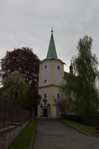 Kostel v Lešné