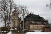 Stárkov, kostel sv. Josefa, fara
