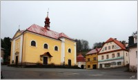 Malé Svatoňovice, náměstí