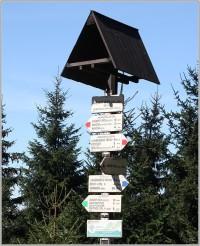 Turistické rozcestí Anenský vrch