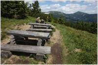 Odpočinkové místo na Liščí hoře