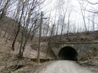 Tunel máme za námi, před námi česneková plantáž..