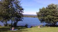 Za jezerem Barbora u Jeníkova