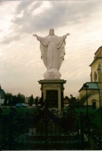 Socha Krista na Velehradu