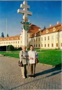 Kříž k uctění návštěvy papeže Jana Pavla II.