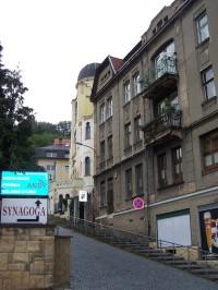 Židovská synagoga v Děčíně- Podmoklech.