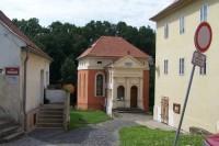 Židovská synagoga v Úštěku.