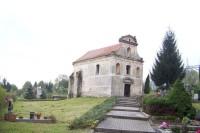 Dříve kostel-dnes hřbitovní kaple sv.Justina ve Stvolínkách