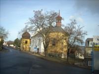 Kostel sv.Valentina v Novosedlicích - jediný toho jména v litoměřické diecézi