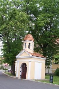 Panenský Týnec - kaple sv.Jana Nepomuckého